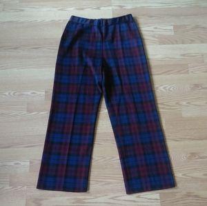 ⚫️ Vintage Plaid Pants